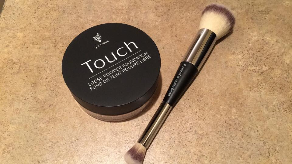 touch loose powder foundation