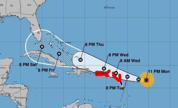paso del huracán irma